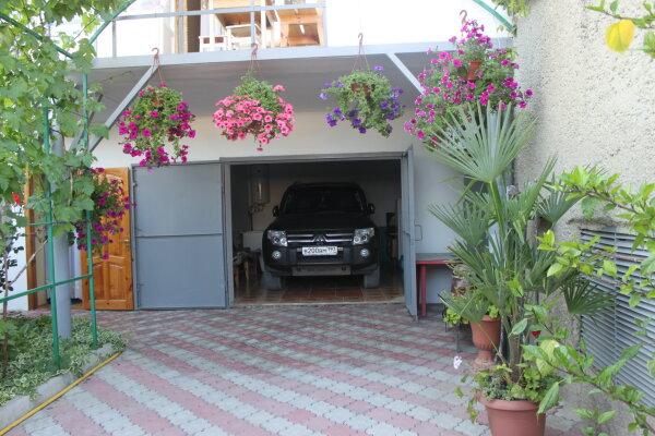 Частный дом на 3 номера с кухней и уютным двориком, 80 кв.м. на 10 человек, 3 спальни, пер. Серный, 9, Судак - Фотография 1