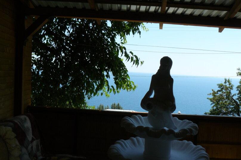 Домик с террасой, фонтаном и видом на море. , 25 кв.м. на 4 человека, 1 спальня, улица Говыриных, 8, Алупка - Фотография 8