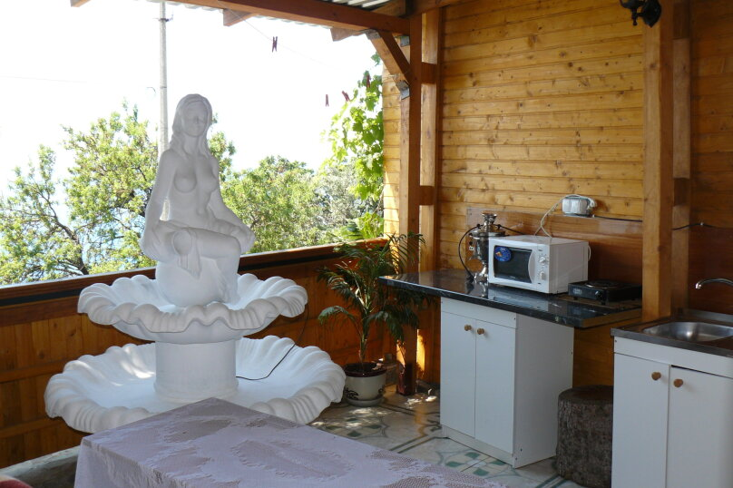 Домик с террасой, фонтаном и видом на море. , 25 кв.м. на 4 человека, 1 спальня, улица Говыриных, 8, Алупка - Фотография 10