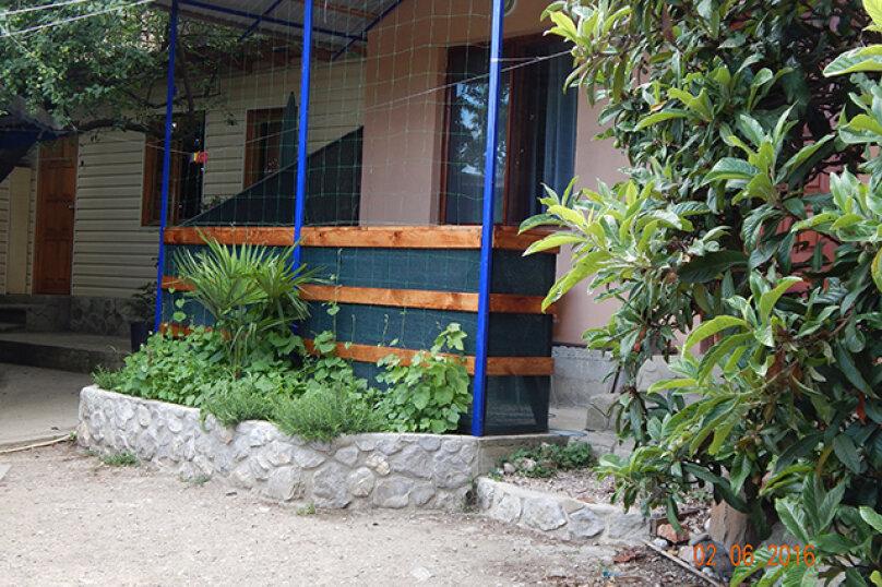 Домик  отдельный   в  тихом  месте, 25 кв.м. на 3 человека, 1 спальня, Щепкина, 1, Алупка - Фотография 3