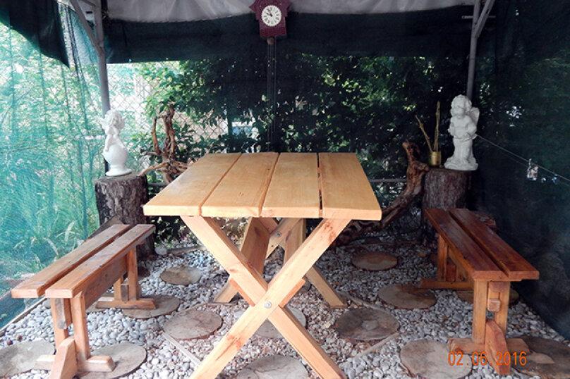 Домик  отдельный   в  тихом  месте, 25 кв.м. на 3 человека, 1 спальня, Щепкина, 1, Алупка - Фотография 5