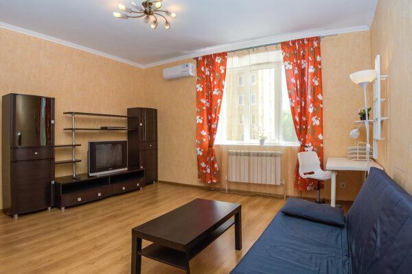 1-комн. квартира, 51 кв.м. на 4 человека, улица Шаляпина, 12, Казань - Фотография 1