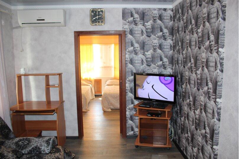 Комфортабельный часть дома под ключ около моря, 45 кв.м. на 5 человек, 2 спальни, Краснофлотская улица, 103, Ейск - Фотография 3