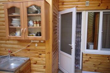 Однокомнатный трехместный домик №1, 15 кв.м. на 3 человека, 1 спальня, Кипарисовая аллея, Судак - Фотография 4