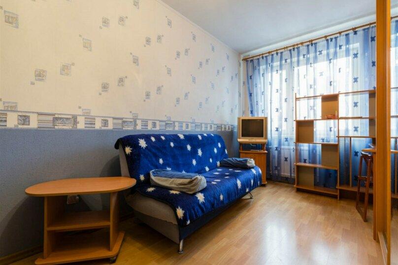 1-комн. квартира, 38 кв.м. на 4 человека, проспект Королёва, 43к1, Санкт-Петербург - Фотография 2