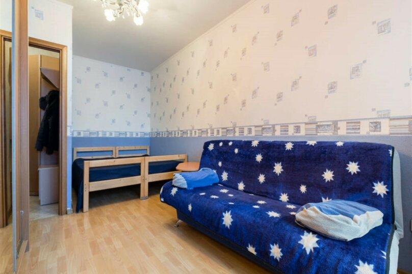 1-комн. квартира, 38 кв.м. на 4 человека, проспект Королёва, 43к1, Санкт-Петербург - Фотография 3