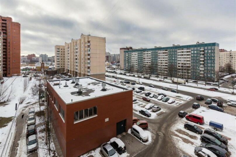 1-комн. квартира, 38 кв.м. на 4 человека, проспект Королёва, 43к1, Санкт-Петербург - Фотография 16