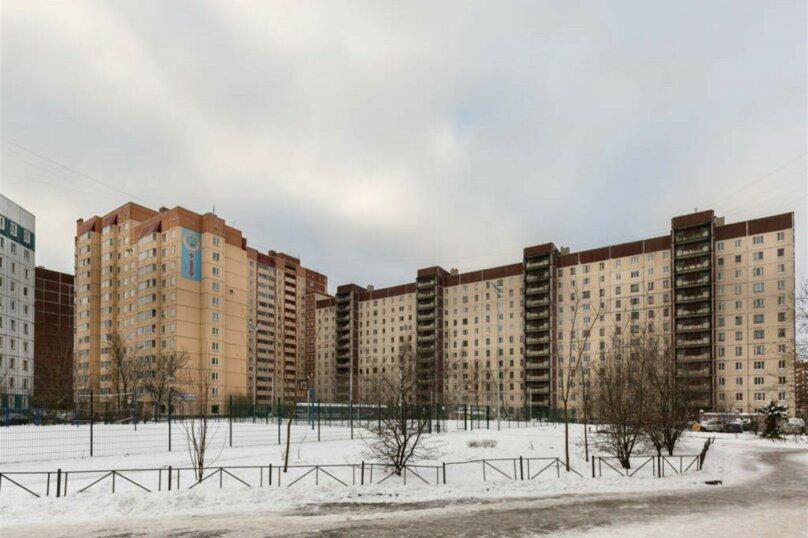 1-комн. квартира, 38 кв.м. на 4 человека, проспект Королёва, 43к1, Санкт-Петербург - Фотография 17