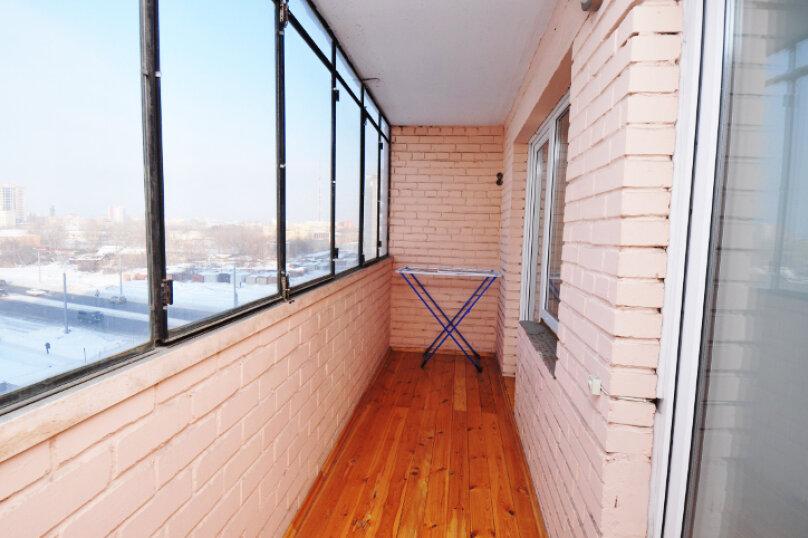 1-комн. квартира, 42 кв.м. на 3 человека, улица Овчинникова, 17А, Челябинск - Фотография 8