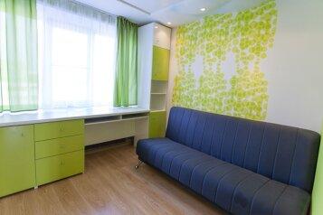 3-комн. квартира, 100 кв.м. на 6 человек, улица Ворошилова, Челябинск - Фотография 3