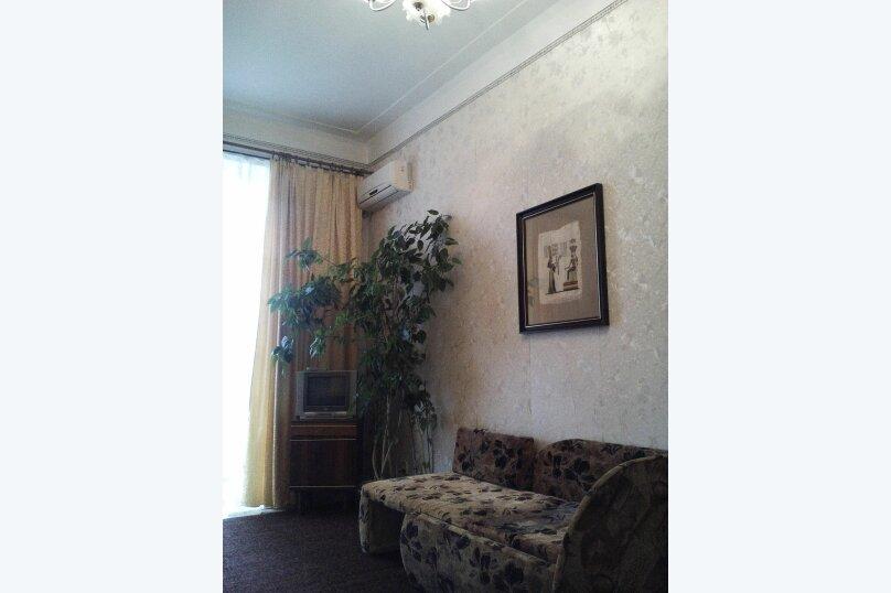 1-комн. квартира, 50 кв.м. на 3 человека, улица Назукина, 1, Феодосия - Фотография 6