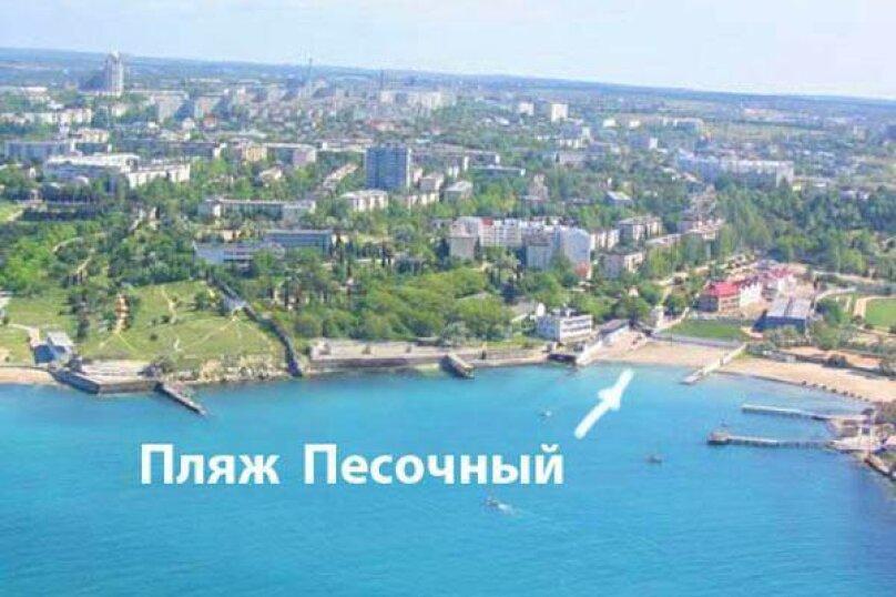 2-комн. квартира, 75 кв.м. на 4 человека, улица Павла Дыбенко, 24, Севастополь - Фотография 4
