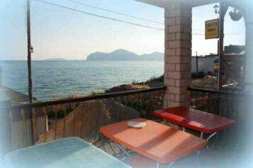 Сдаётся гостевой дом на 6+9 чел в Крыму в Орджоникидзе в 30 шагах от моря .цена 6000., Шелковичная улица на 4 номера - Фотография 1