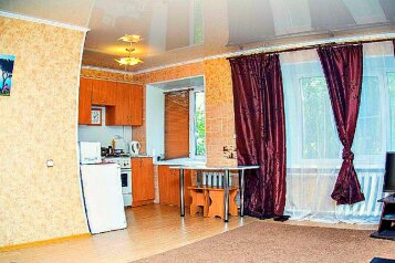 1-комн. квартира на 2 человека, проспект Карла Маркса, 48, Центральный округ, Омск - Фотография 1