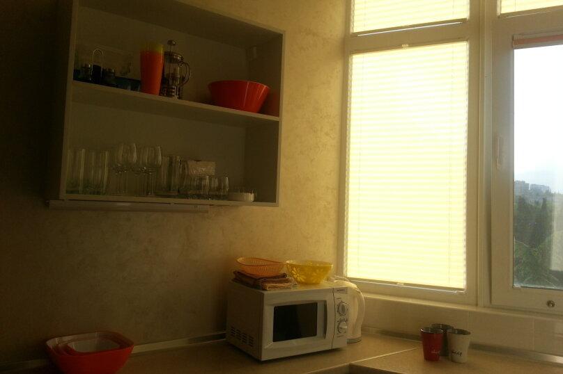 1-комн. квартира, 37 кв.м. на 5 человек, пер.Ревкомовский, 4, Алушта - Фотография 15