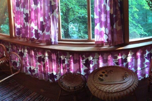 Дом в лесу, 83 кв.м. на 6 человек, 1 спальня, поселок Художников, 33, Абрамцево - Фотография 1