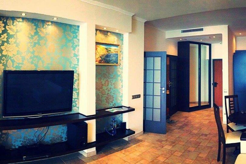 2-комн. квартира, 100 кв.м. на 4 человека, Строителей, 3а, Гурзуф - Фотография 3