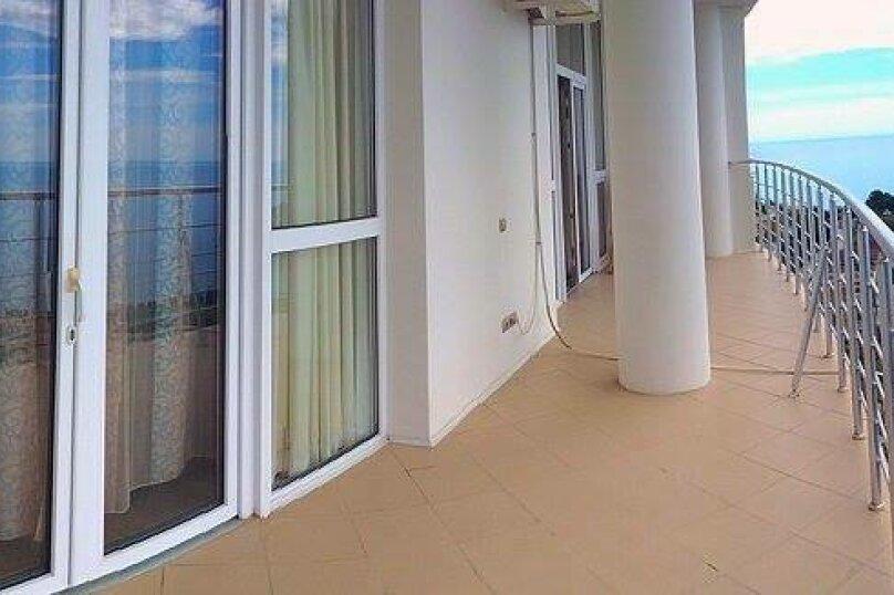 2-комн. квартира, 100 кв.м. на 4 человека, Строителей, 3а, Гурзуф - Фотография 12