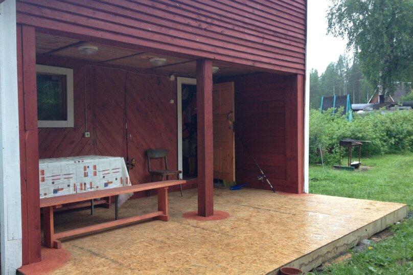 Дом отдыха в Карелии на озере Суоярви, 60 кв.м. на 6 человек, 2 спальни, Бродное, б/н, Суоярви - Фотография 11