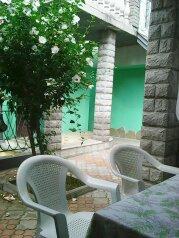 Дом 10-15минпляж, кондиционер,3комнаты 1проходная .100 кв. +стоянка,зеленый двор., 100 кв.м. на 7 человек, 2 спальни, Таврическая улица, 36, Алушта - Фотография 2