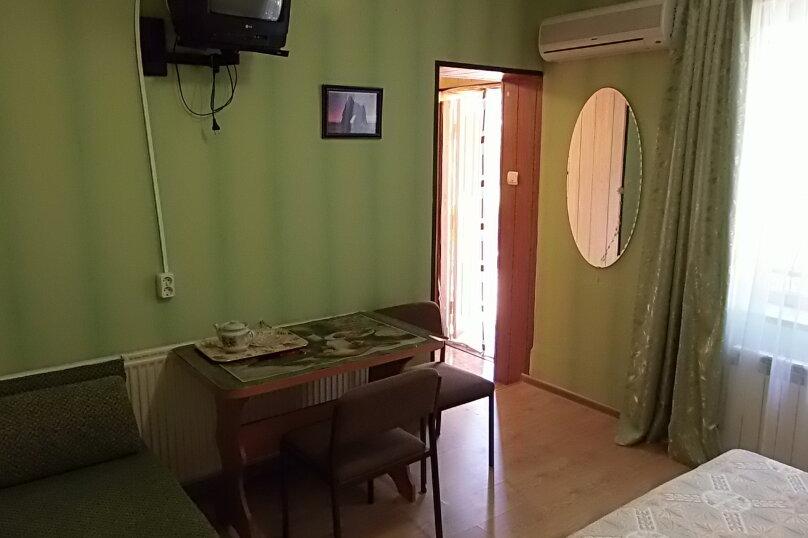Двухместный номер стандарт с мини-кухней, улица Ленина, 126, Коктебель - Фотография 12