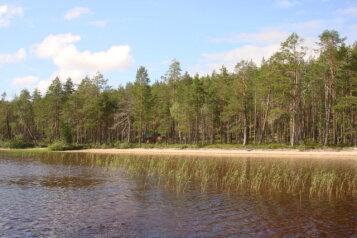 Дом рыбака на озере Ровкульское, Муезерский район, 24 кв.м. на 5 человек, 2 спальни, Улица Ровкульская, Муезерский - Фотография 2