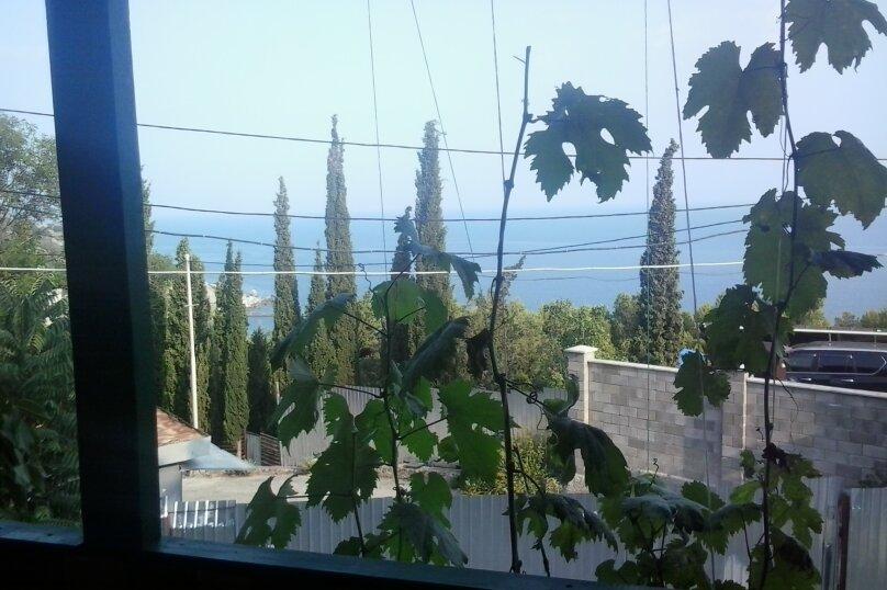 Номер с балконом на море холодильником и кухней, Кипарисная, 28, Береговое (Кастрополь), Ялта - Фотография 1