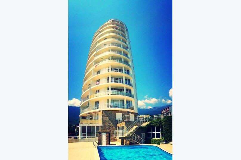 2-комн. квартира, 100 кв.м. на 4 человека, Строителей, 3а, Гурзуф - Фотография 18