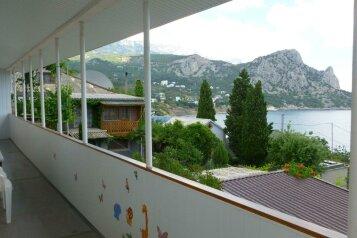 Дом с террасой у самого моря., 60 кв.м. на 4 человека, 1 спальня, Шулейкина, 3, Кацивели - Фотография 2