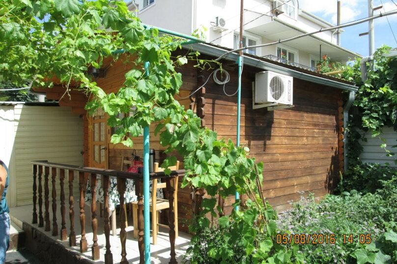 Домик под ключ  №2. , 15 кв.м. на 4 человека, 1 спальня, улица Шевченко, 104, Анапа - Фотография 1