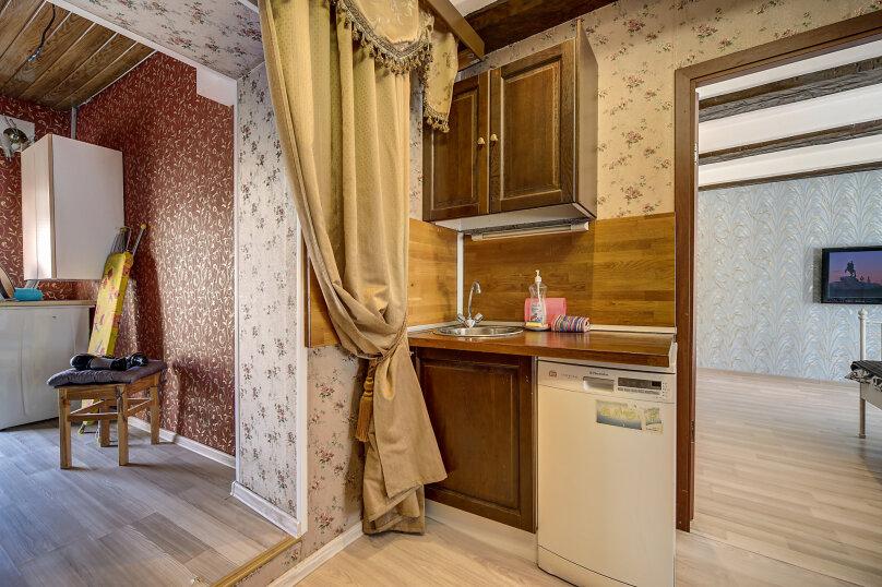 1-комн. квартира, 50 кв.м. на 2 человека, набережная реки Фонтанки, 8, метро Гостиный Двор, Санкт-Петербург - Фотография 16
