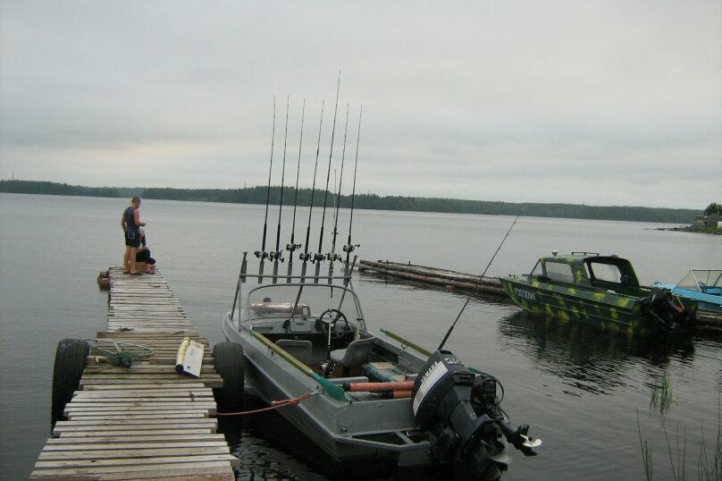 Дом с баней на острове озеро Сандал, 100 кв.м. на 8 человек, 3 спальни, Нигосторов, 10, Петрозаводск - Фотография 7