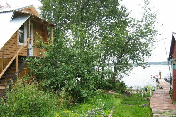 Дом с баней на острове озеро Сандал, 100 кв.м. на 8 человек, 3 спальни