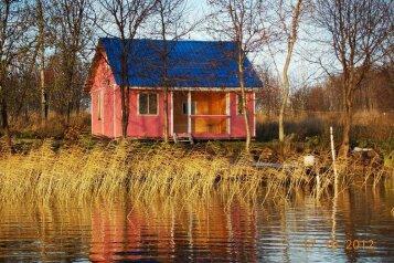 Розовый домик, 50 кв.м. на 4 человека, 2 спальни, деревня Гарницы, 7, Петрозаводск - Фотография 1