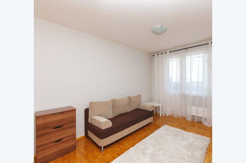 2-комн. квартира, 46 кв.м. на 6 человек, Родонитовая улица, 2к2, Екатеринбург - Фотография 2