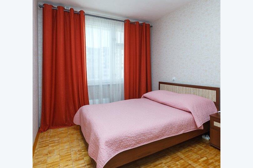 2-комн. квартира, 46 кв.м. на 6 человек, Родонитовая улица, 2к2, Екатеринбург - Фотография 5