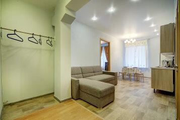 1-комн. квартира, 58 кв.м. на 4 человека, набережная реки Фонтанки, 50, Центральный район, Санкт-Петербург - Фотография 2