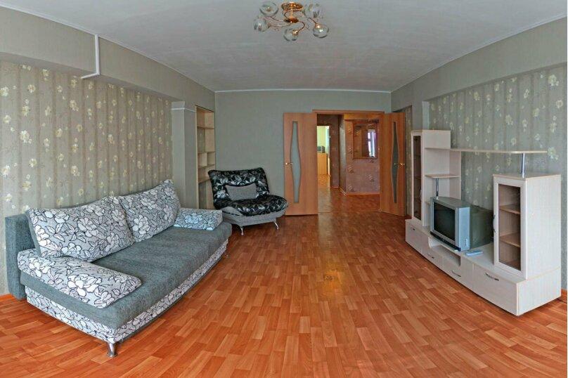 2-комн. квартира, 58 кв.м. на 4 человека, улица Фёдора Гладкова, 32, Чебоксары - Фотография 2