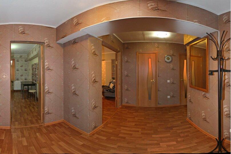 2-комн. квартира, 58 кв.м. на 4 человека, улица Фёдора Гладкова, 32, Чебоксары - Фотография 3