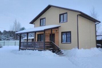 Дом на озере, 100 кв.м. на 8 человек, 4 спальни, деревня Никола Рожок ул. Лесная, 18, Заречье - Фотография 1