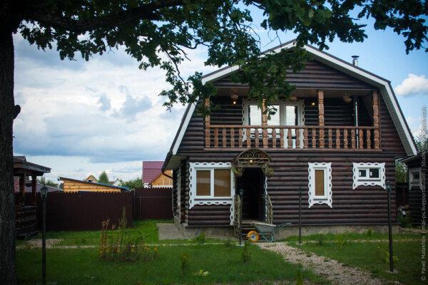 Коттедж - Банный Двор, 160 кв.м. на 8 человек, 2 спальни, Машково, 1, Обнинск - Фотография 1