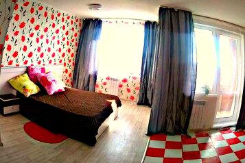 1-комн. квартира, 42 кв.м. на 2 человека, улица Конева, 10, Омск - Фотография 1
