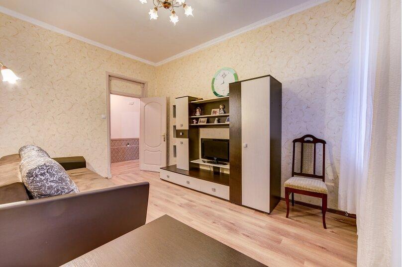 2-комн. квартира, 47 кв.м. на 4 человека, Мытнинская, 16, Санкт-Петербург - Фотография 3