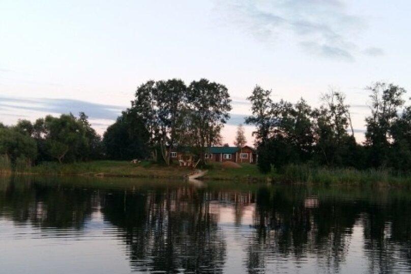 Дом на берегу чистейшего озера, 200 кв.м. на 10 человек, д. Куряево, 7, Осташков - Фотография 1