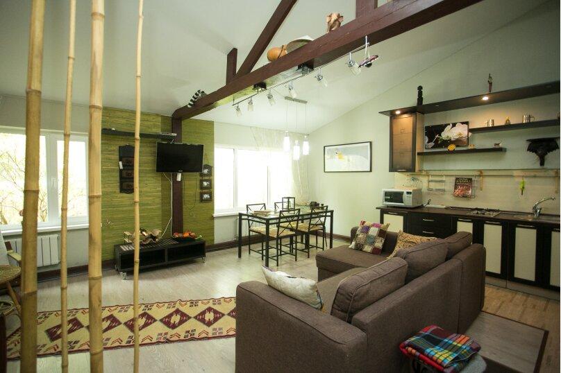 Домик-люкс в стиле бунгало, 90 кв.м. на 6 человек, 2 спальни, Демаки, 12, Нижний Новгород - Фотография 1