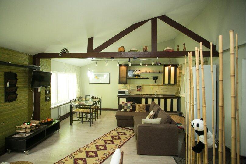 Домик-люкс в стиле бунгало, 90 кв.м. на 6 человек, 2 спальни, Демаки, 12, Нижний Новгород - Фотография 3