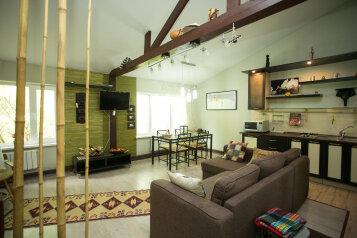 Домик-люкс в стиле бунгало, 90 кв.м. на 8 человек, 2 спальни, Демаки, 12, Нижний Новгород - Фотография 1