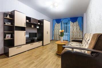2-комн. квартира, 70 кв.м. на 4 человека, улица Переверткина, Воронеж - Фотография 1