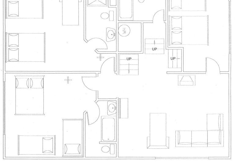 Шале на Таёжной, 184 кв.м. на 14 человек, 3 спальни, Таёжная улица, 9, Шерегеш - Фотография 7