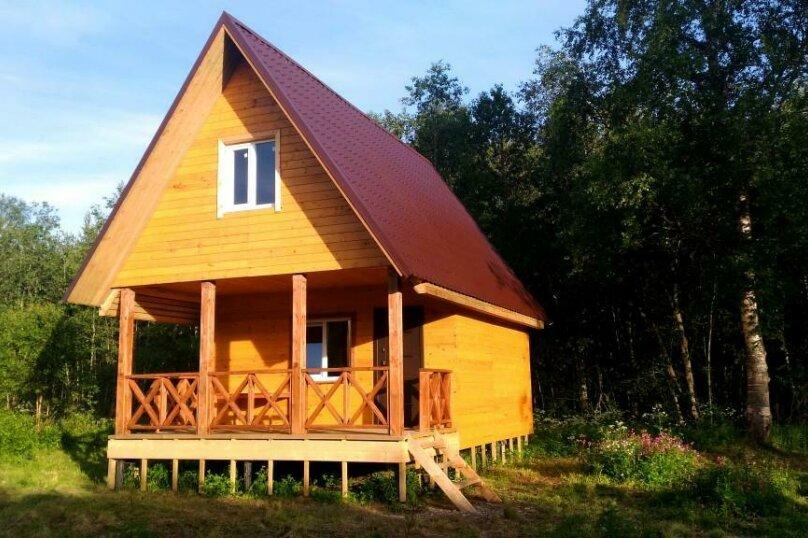 Домик на берегу озера , оз.Сиесманьярви, 1, Сортавала - Фотография 1